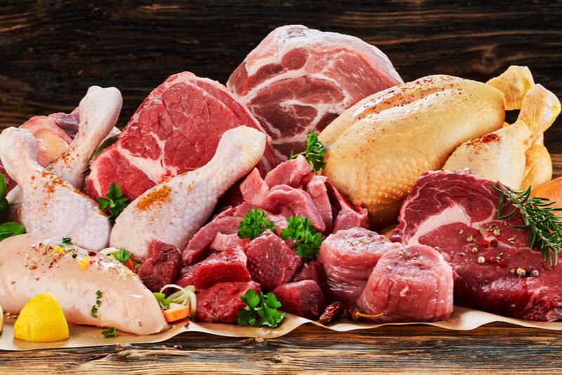 新鮮なお肉の画像