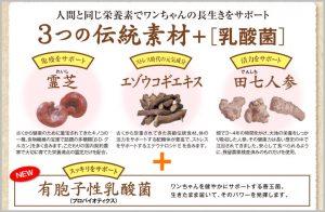 犬康食ワン・プレミアムの成分・原材料の画像