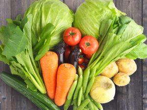 新鮮な野菜の画像