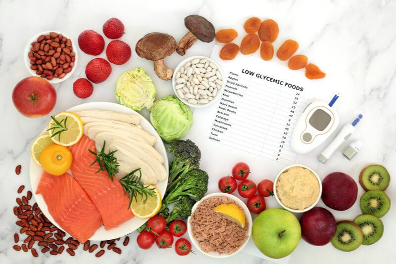 血糖値コントロールできる食材
