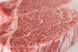 霜降り牛肉の画像