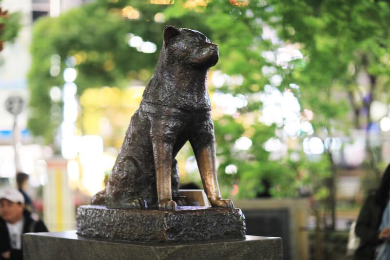 渋谷の忠犬ハチ公は2代目
