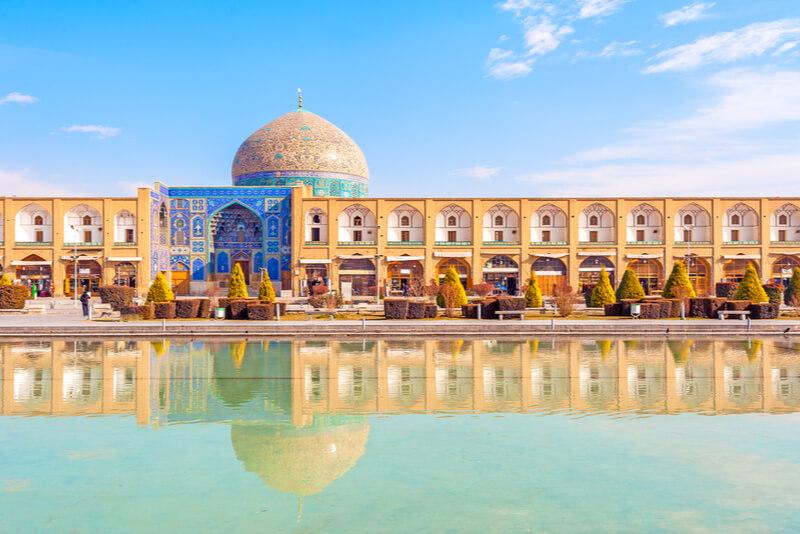 イランのきれいな建造物