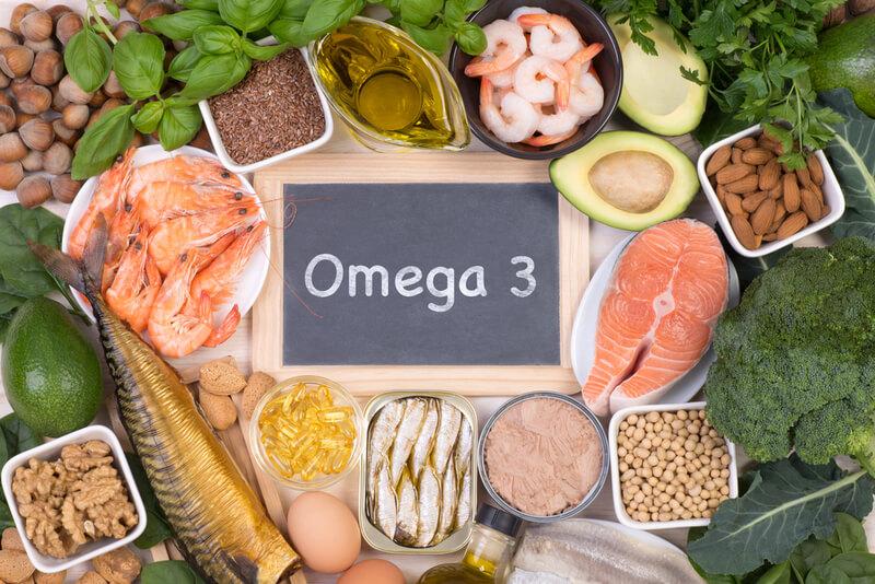 オメガ3脂肪酸の入った食材